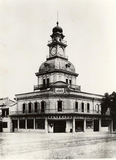 المتجر الذي أسسه كينتارو هاتوري عام 1887 في أهم المناطق التجارية في طوكيو